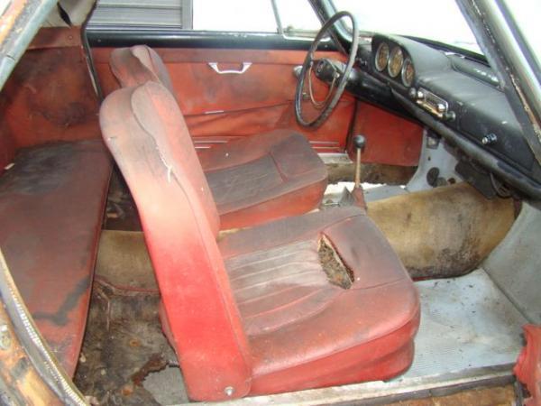 1960 Lancia Appia Coupe Interior