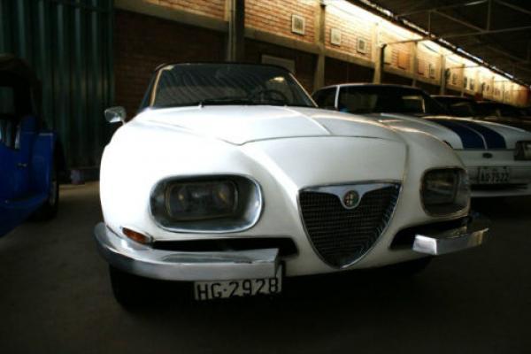 1966 Alfa Romeo 2600 Sprint Zagato