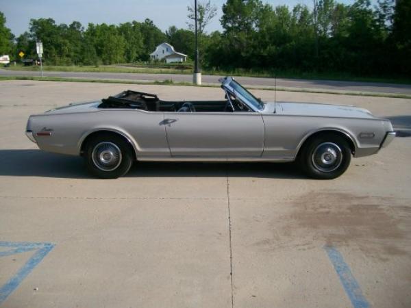 1968 Mercury Cougar Convertible