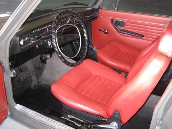 1969 Volvo 142s Interior