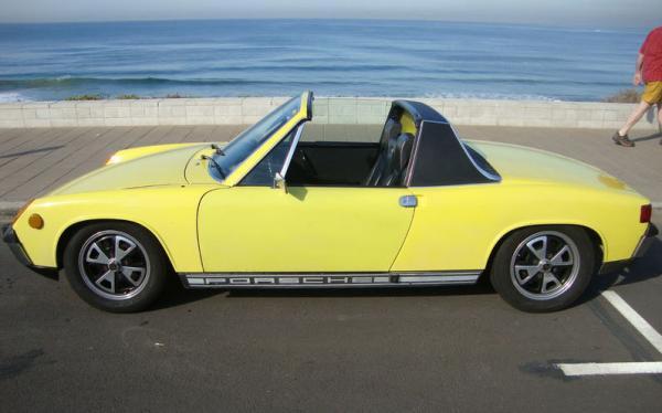 1973 Porsche 914 Side