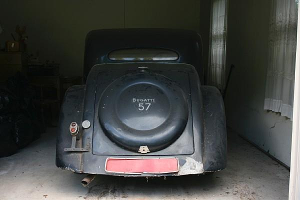 Bugatti In The Barn