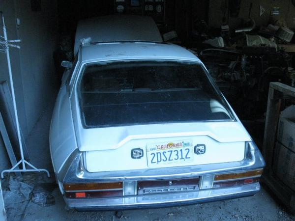 Citroen Sm Barn Find Rear