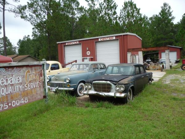Studebakers By Sign
