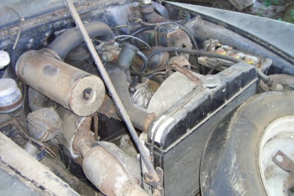 1957-citreon-id19p-engine