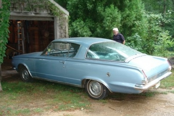 1965-Barracuda-Fastback-driver