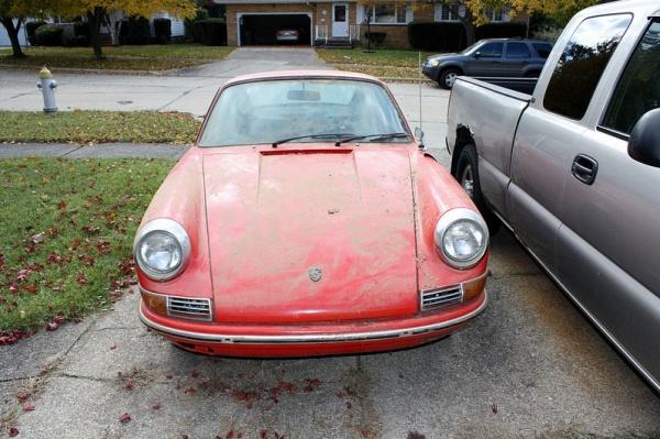 1968-porsche-912-garage-find-front