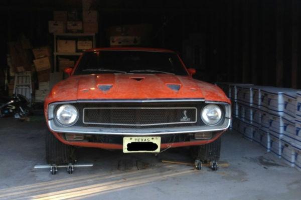 1969-Shelby-GT500-garage-find