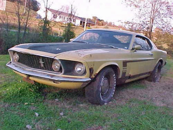 1969 Ford Boss 302 Garage Find - Barn Finds