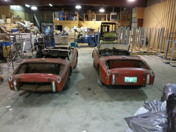 two-for-one-triumph-tr3s-rear