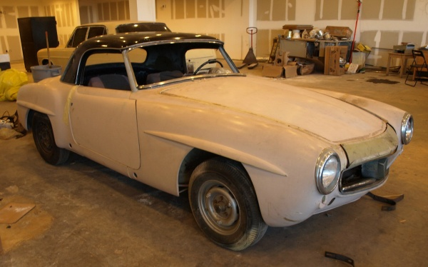 1958-Mercedes-190SL-project