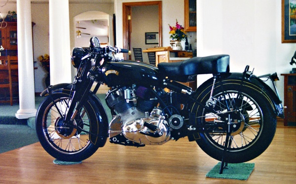 The Vincent in the living room