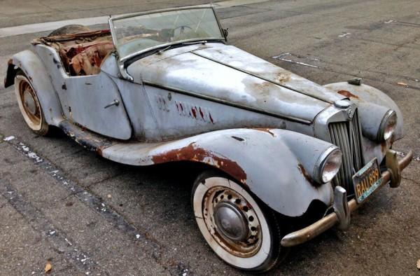 1954 MG TF Midget