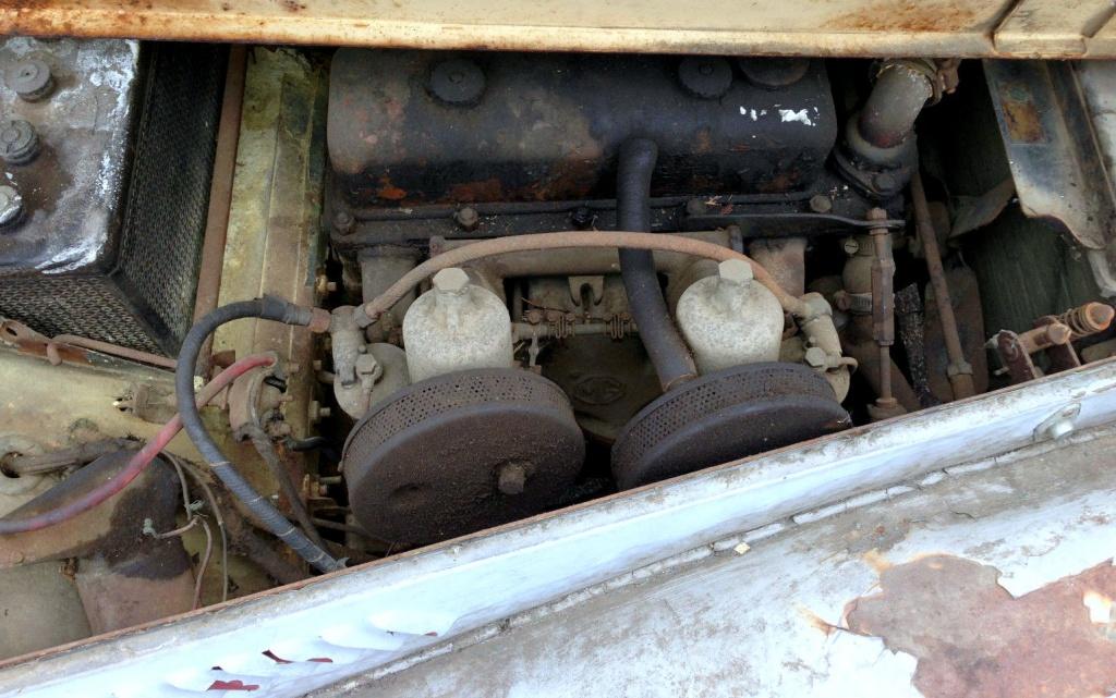 MG TF motor