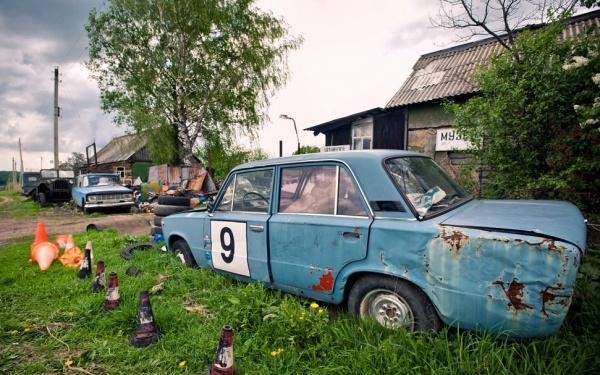 Russian Race Car
