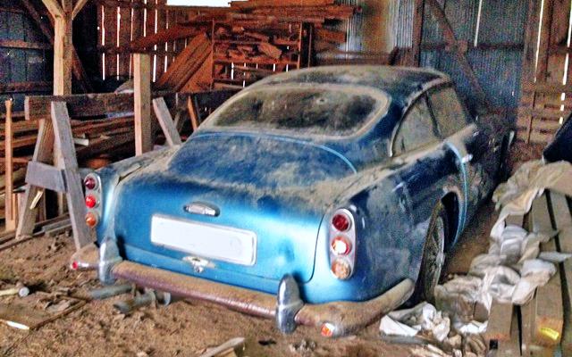 Aston Martin Barn Find