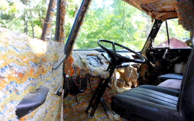 1964 Ford Van interior