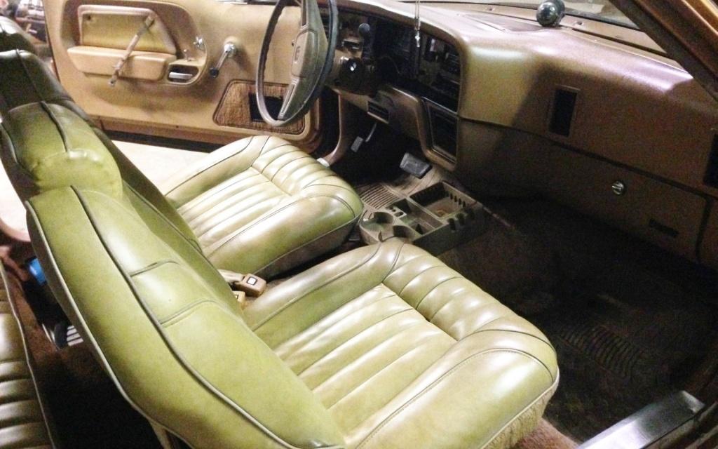 1978 AMC Pacer Interior