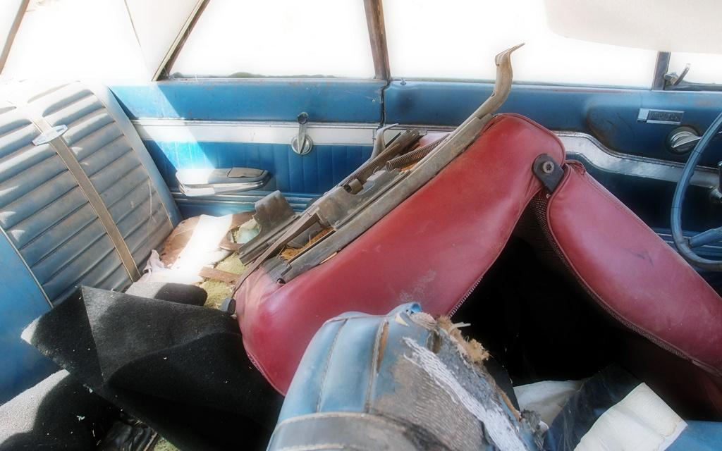 Ford Fairlane interior