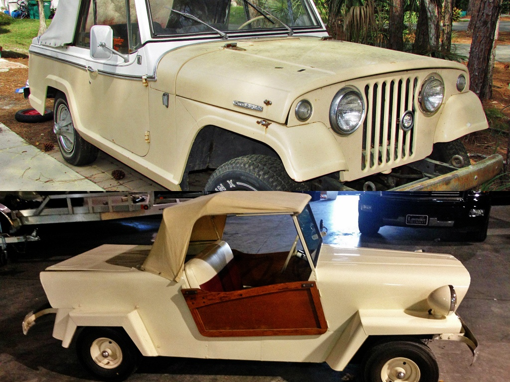 Jeepster and its Mini Me