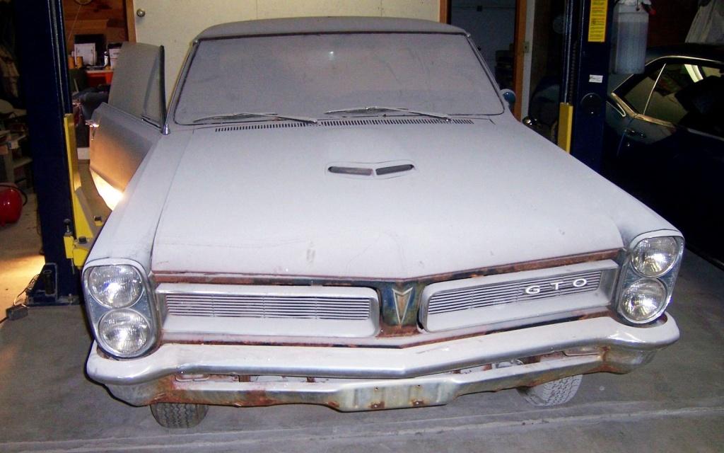 Rusty 1965 GTO
