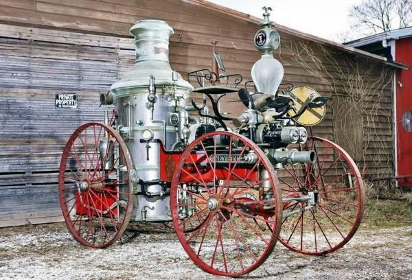 1873 Silsby Steam Pumper