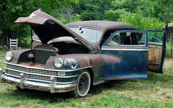 1948 Chrysler Sedambulance