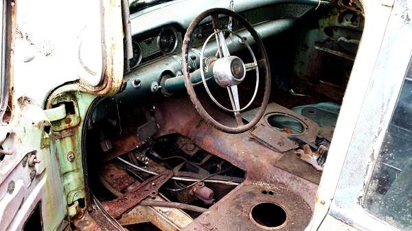 1954 Buick Wagon Interior