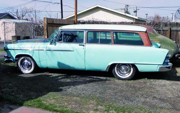 1955 Dodge Suburban 2-door
