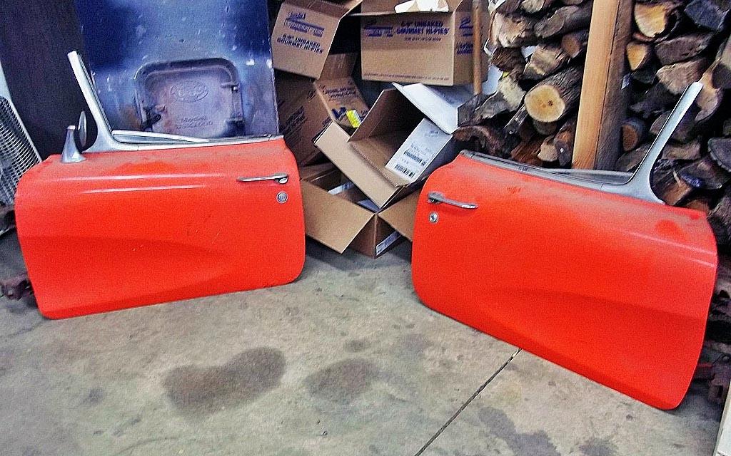 1956 Corvette doors