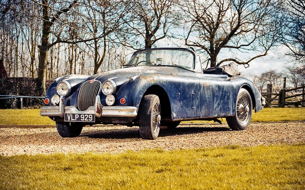 1958 Jaguar XK150 Drophead