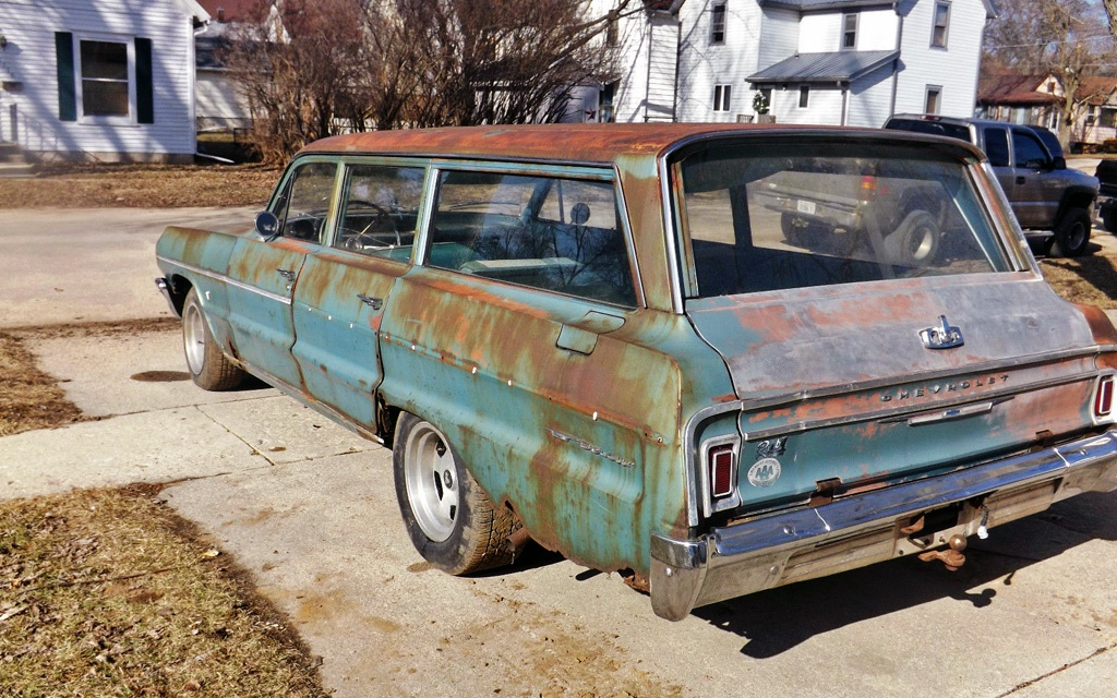 1964 Chevy Bel Air Wagon