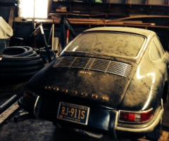 1967 Porsche 911S Barn Find