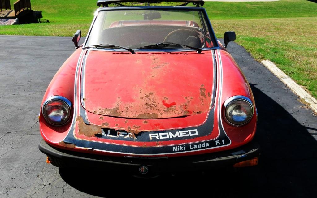 1978 Alfa Romeo Niki Lauda Spider
