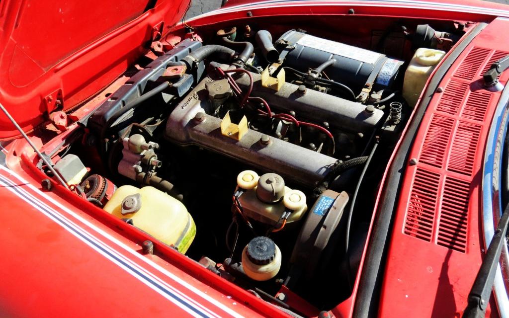 1978 Alfa Spider Motor