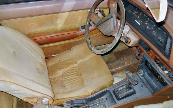 Datsun 200SX interior