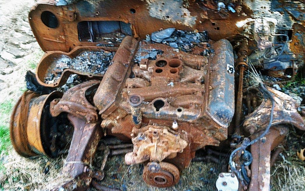 Oldsmobile 442 motor