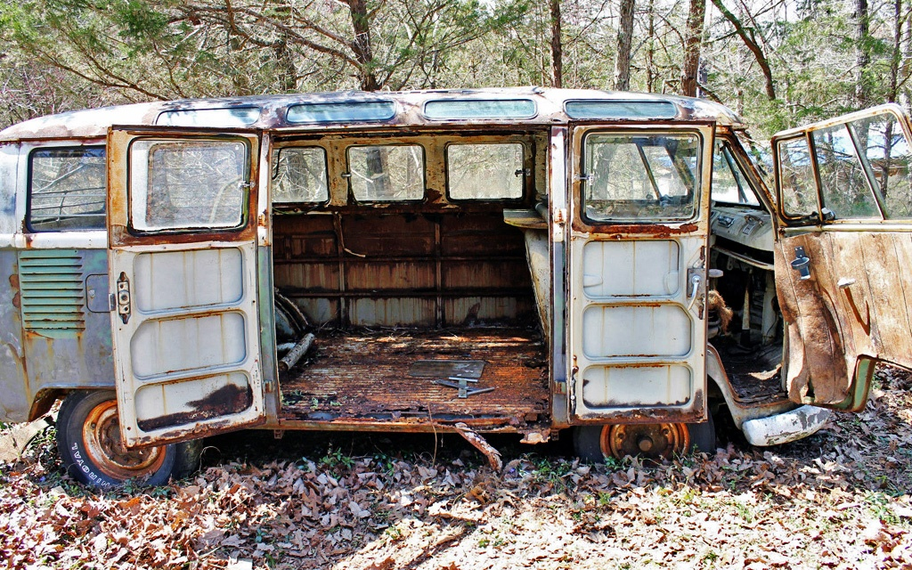 VW Samba Barndoors