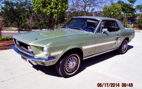 1968 Ford Mustang GT-CS