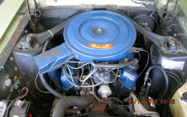 1968 Mustang GT-CS Engine
