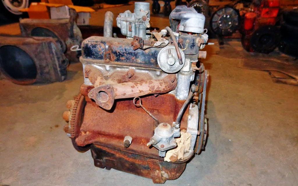 Abarth 750 Motor