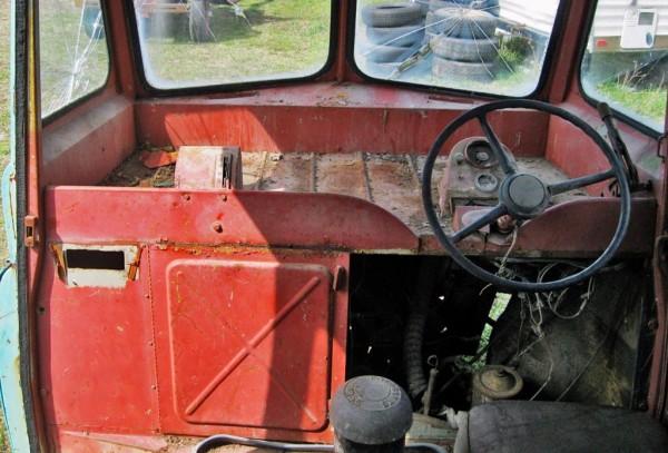Dodge Postal Van Interior