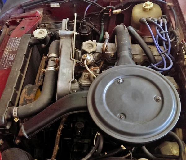 Fiat 124's Motor
