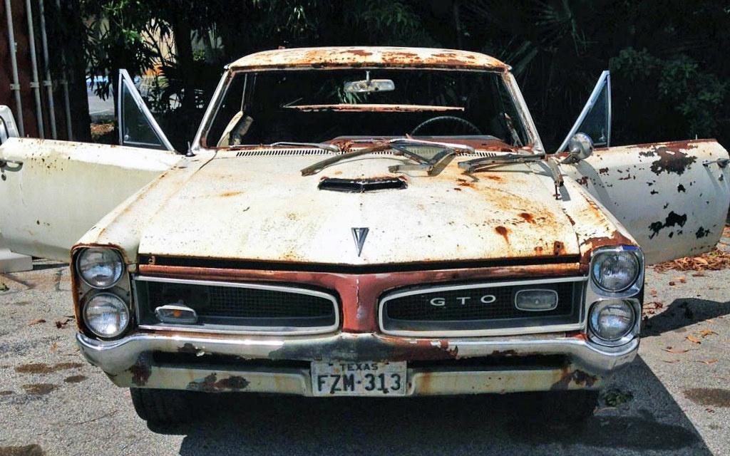 Rusted Pontiac GTO