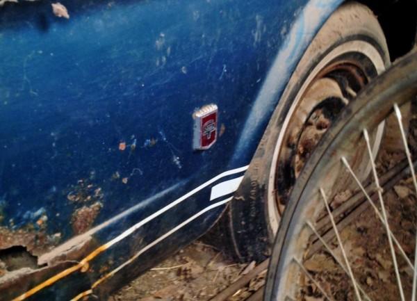 Rusty Fastback
