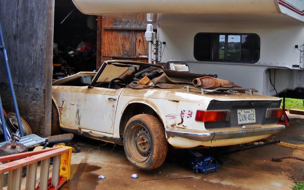 Shaun's Triumph TR6