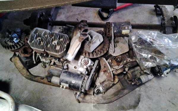Subaru 360 motors