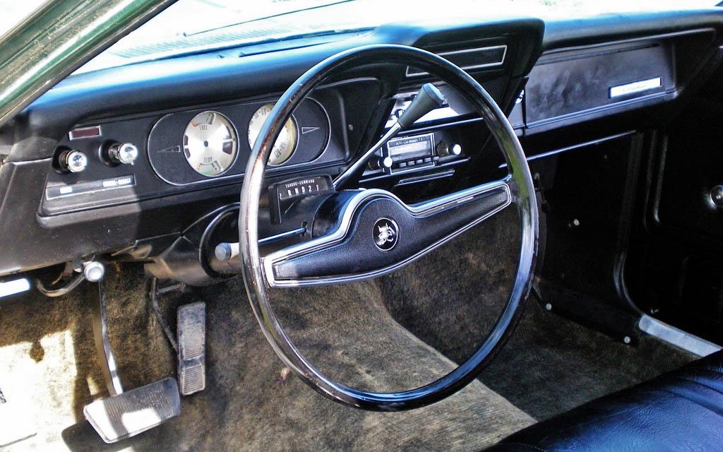 1972 Gremlin Interior