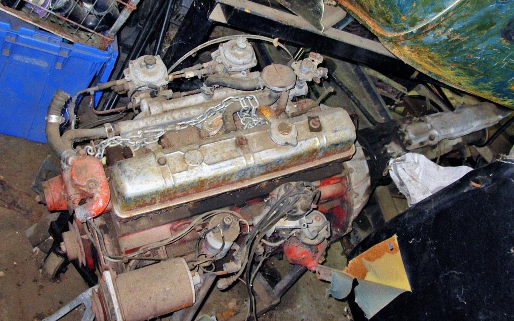 2 liter Triumph GT6 Motor