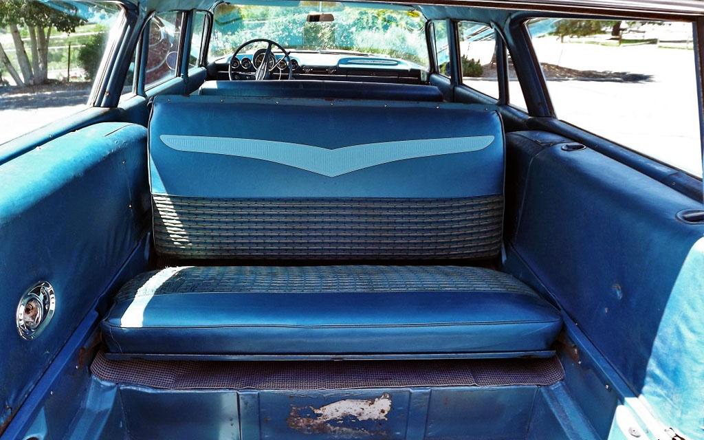 Chevy Impala Wagon interior